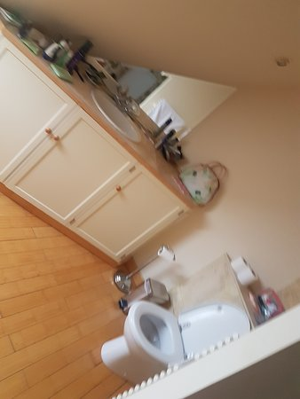 Portsonachan, UK: Bathroom in the bedroom!