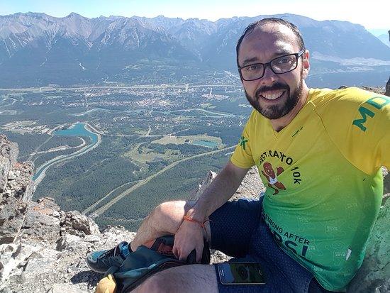 Ha Ling Peak: At the top!