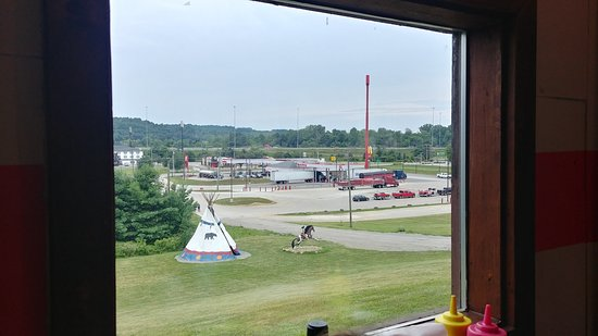 Bellville, OH: View from Seats