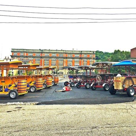 Pedal Wagon - Cincinnati Tours