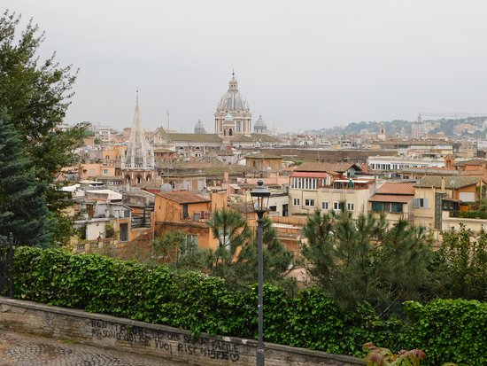 Panorama dalla Terrazza del Pincio - Foto di Terrazza del Pincio ...