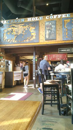 Jackson Hole Roasters Restaurant Coffeehouse You Order Up At The Counter Then