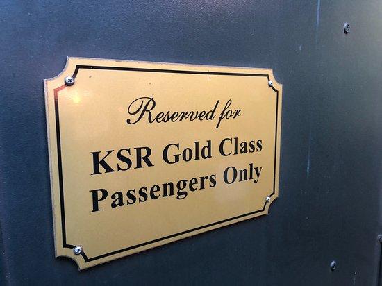 Kuranda Scenic Railway: Luxus für jene die es haben möchten