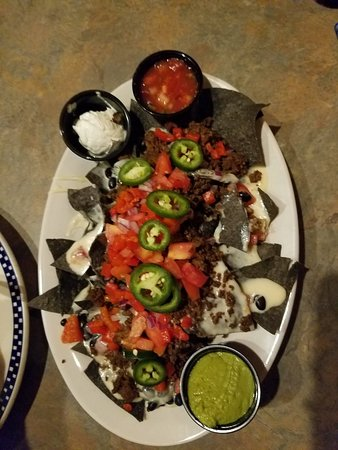 Reel Cafe: Nacho Appetizer with beef