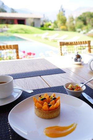 Sol y Luna - Relais & Chateaux: breakfast!