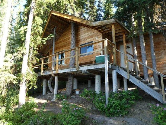 Anahim Lake, Canadá: Cabin
