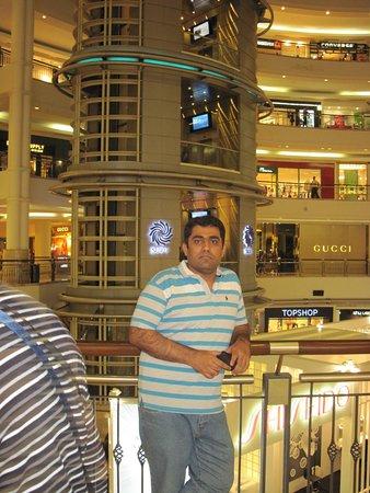 Berjaya Times Square Kuala Lumpur: My self :)
