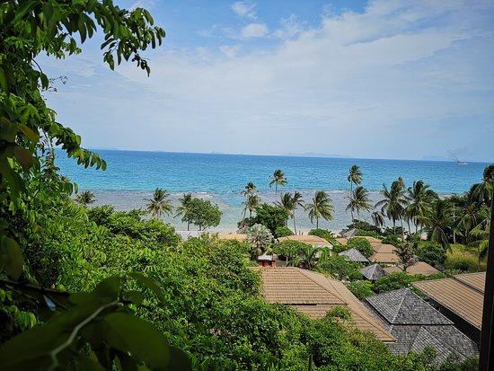 The Sunset Beach Resort & Spa, Taling Ngam: Beach view