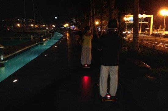 Visite nocturne de Papeete en Segway