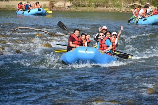 Rafting de nivel I en el río Copalita