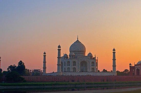 Agra samme dagstur ved Gatimaan Express