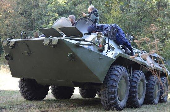 Condução de tanques BTR-80