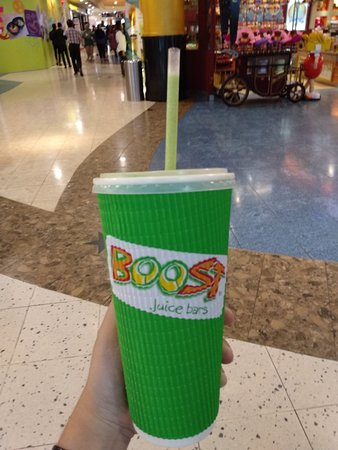 Boost Juice Bars: Come again to try another flavour. Still my favourite beverage!! 好喝和健康
