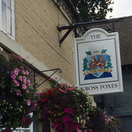 Erbistock, UK: The lovely Cross Foxes