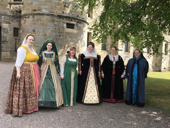 Falkland Palace & Garden: Warm welcome from Mary Queen of Scots and her ladies in waiting