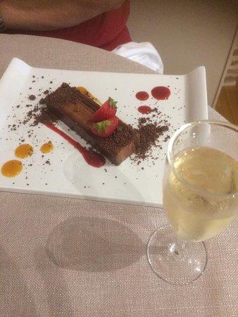 Saint Lieux les Lavaur, França: barre chocolat que je n'ai pas goûté mais que mon Mimi a savourée