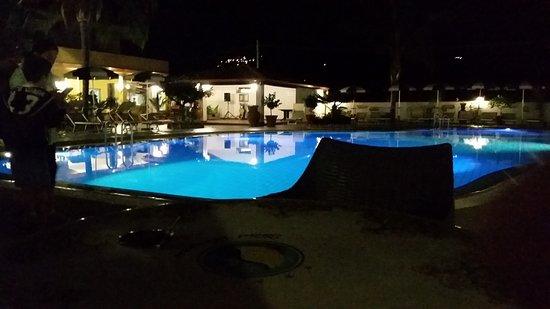 Illuminazione della piscina a led multicolre picture of damanse