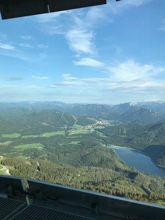 Mitterbach, Αυστρία: Ausblick von der Terasse