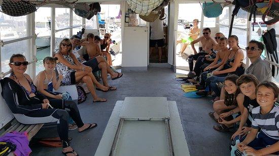 Carry-le-Rouet, France: Départ pour une belle matinée plongée sous-marine!!!!