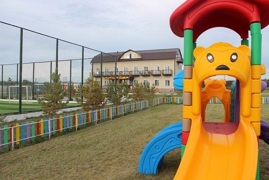 Zerenda, كازاخستان: Детская игровая зона