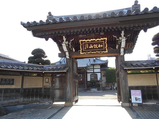 Сугинами, Япония: 修行寺 山門