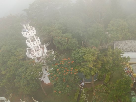 Ambuluwawa Biodiversity Complex: the view from the tower
