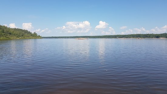 Whiteshell Provincial Park, Kanada: East of whitemouth falls