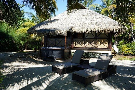 Patio, Polynesia thuộc Pháp: notre fare jacuzzi