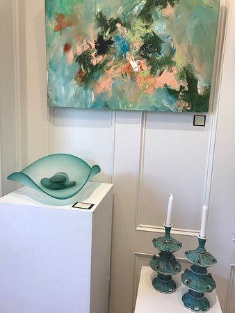 Fern and Dina's Gallery & Gifts: Original Paintings, Blown Glass and Ceramics