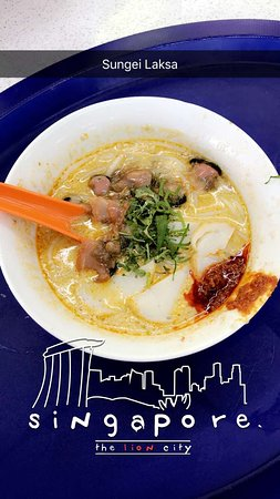 Sungei Road Laksa: My first meal in Singapore