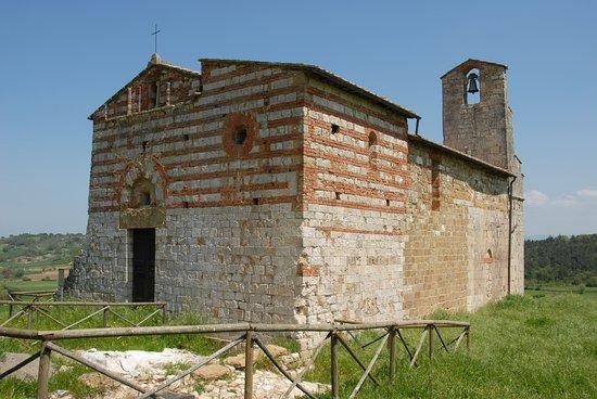 Colle di Val d'Elsa, İtalya: Chapelle dans son ensemble