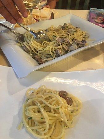 Ristorante Da Todro Due Santi: Spaghetti alle vongole