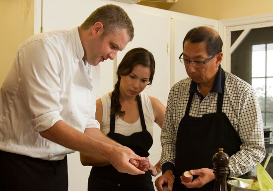 Picton, Canadá: Chef Jordon McGinnis is the Head Chef at The Cookery School