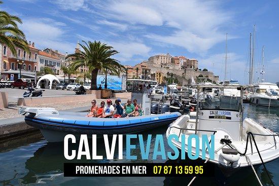 CALVI EVASION - Promenades en Mer