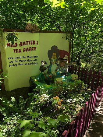 alice in wonderland picture of enchanted forest theme park salem