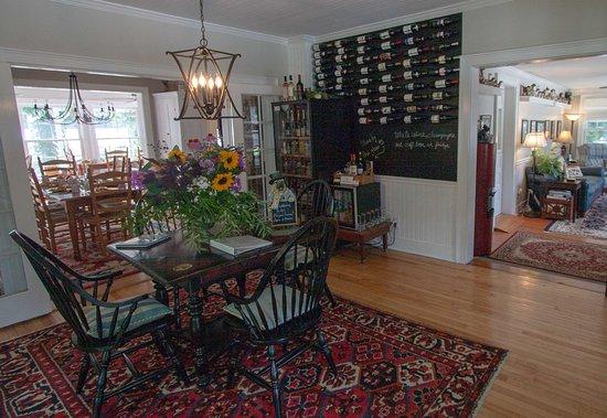 Montgomery Center, VT: Wine Tasting Room