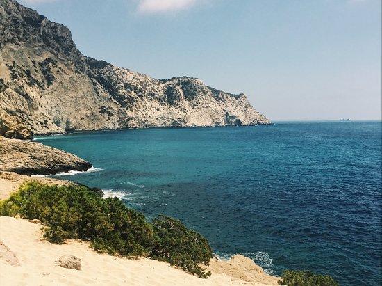 Magical rocks at Atlantis - Picture of Cap Blanc, Ibiza