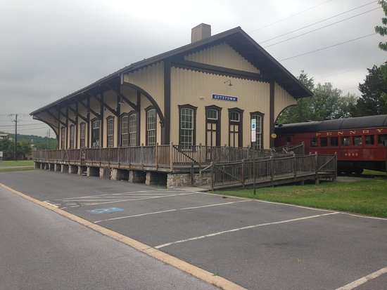 The Allentown and Auburn Railroad Station in Kutztown, Pa