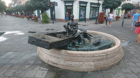 Boatman Sculpture