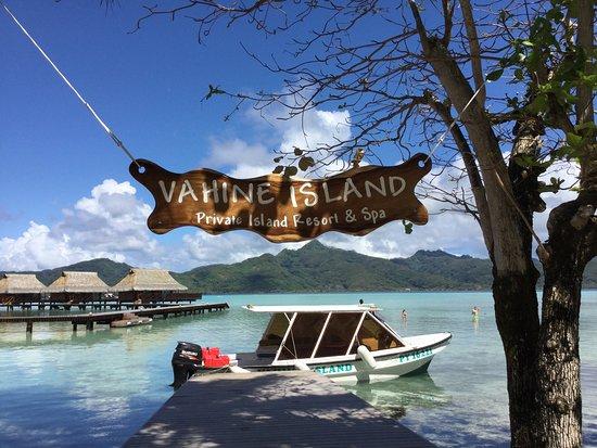 Foto de Vahine Island - Private Island Resort & Spa