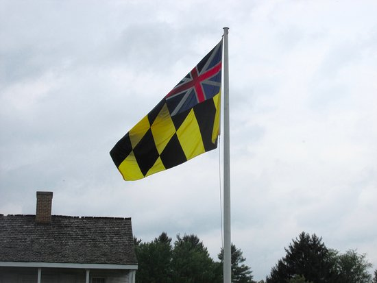 Big Pool, MD: The flag has MD colors