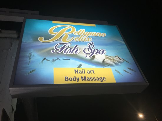Rethymno Relax Fish Spa