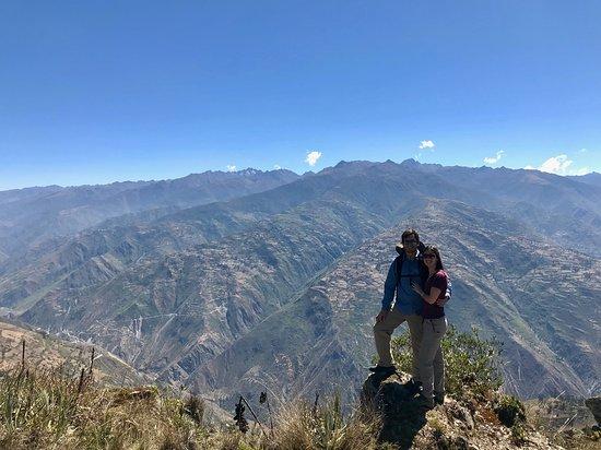 Pampas, بيرو: Mirador de Paltarumi
