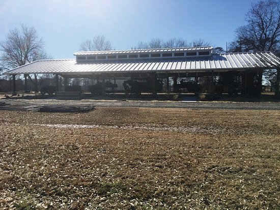 Scott, AR: Historic Tractor Shed