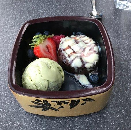 Matsuhisa Vail: desert - great green tea ice cream