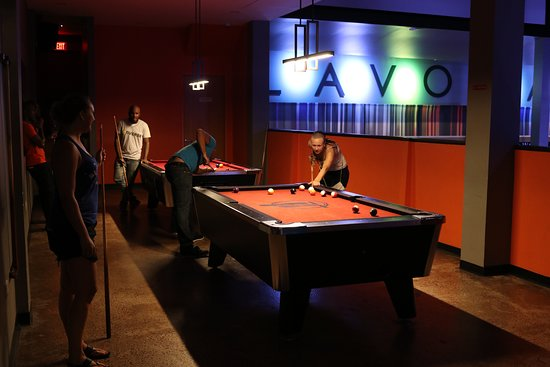 Lavo Lanes: Four Pool Tables