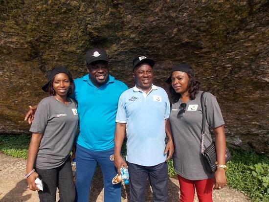 Abeokuta, Nigeria: With Friends
