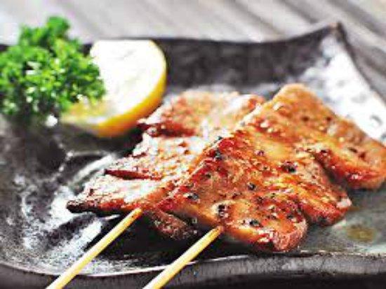 Satay Mama: beef tongue