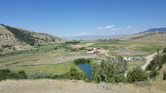 Alder, MT: View of the ranch