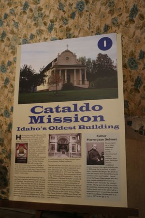 Cataldo Mission history